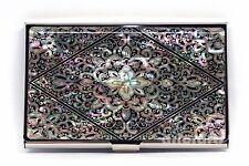 Business Credit Card Case Name ID  Cash Money Holder Wallet MOP Arabesque Design