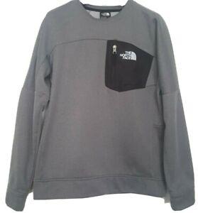 The North Face Mittelegi Crew Fleece Grey Sweatshirt Boys Youth Junior XL RRP£50