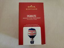 New ListingHallmark 2020 Snoopy for President Limited Edition Peanuts Gang Ornament
