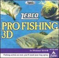 Zebco Pro Fishing 3D [SmartSaver Series]  (PC, 1998)