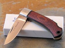 "A.G. RUSSELL KNIVES, A. G. RUSSELL 4"" A-702 LOCK BACK FOLDING KNIFE, JAPAN"