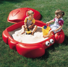 Sandbox Kids Crabbie Play Sand Box Kids Outdoor Toys Hard Plastic NEW