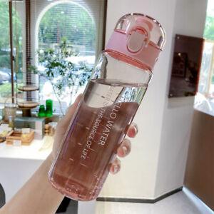 Sports Water Bottle BPA Free Leakproof Portable Drinks Mugs Gym Bottle UK