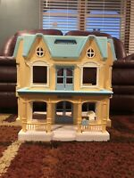 Vintage Fisher Price Loving Family Dream Dollhouse Folding Doll House 6364 1993