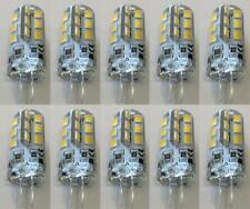 10 X G4 LED Under Cabinet Light Bulb Ceiling Desk Lamp 12V DC 1.5W Warm White