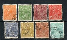 Australia 1931-36 Sidehead set to 1s 4d mainly FU CDS