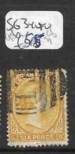 FALKLAND ISLANDS  (PP1901B) QV 6D FI CANCEL SG 34  VFU