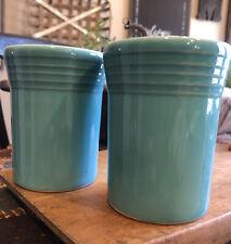 Set Of 2 Vintage Turquoise Fiestaware Fiesta 60th Anniversary Tumblers