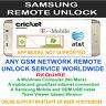 Samsung Unlock SM-J327A SM-J327AZ SM-J727A SM-J727AZ att cricket Xfinity Via Usb