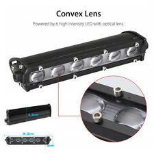 2x Slim LED Work Light Single Row Spot Beam Fit For Car SUV Off road Lamp 120W