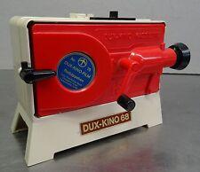 Alter kleiner DUX Kino 68 Projektor mit Rotkäppchen Film Kassette