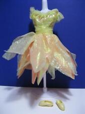 BARBIE DOLL Yellow Ballet ~Tutu Dress Point Ballerina~1998 Bubble Fairy Teresa
