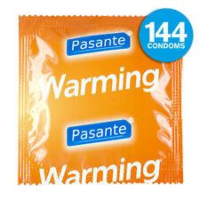 PASANTE 144 CONDONES condones EFECTO CALOR CALENTAMIENTO + 5 condón DUREX