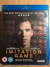 Benedict Cumberbatch IMITATION GAME ~ 2014 Alan Turing Enigma Drama UK Blu-ray