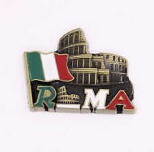 On sale! Colosseum Rome Italy Fridge Magnet Bronze Metal Souvenir Gift New