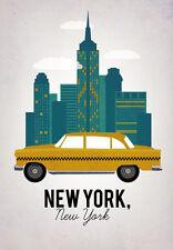 "Vintage New York Travel Photo Fridge Magnet 2""x3"" Collectibles"