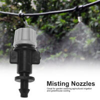 50 X Misting Nozzle Sprinkler Head Atomizer For Garden Drip Irrigation System