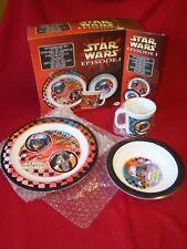 Star Wars Episode 1 Dinnerware Set Anakin Skywalker Sebulba PodRace