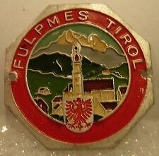 Fulpmes Tirol used badge mount stocknagel hiking medallion G5813