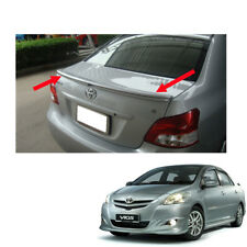 No Painted Rear Spoiler TRD For Toyota Vios Yaris Sedan Belta 2007-2013