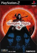 Used PS2 Vampire Night Japan Import (Free Shipping)