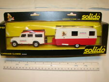 VINTAGE SOLIDO TOYS TRUCK MADE IN FRANCE DIECAST CIRCUS AMAR CARAVANE CLOWNS 621