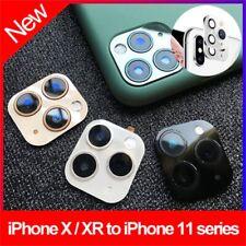 XR X XS Max Wechsel auf iPhone 11 Pro Max Fake Kamera Objektiv Zurück Protector