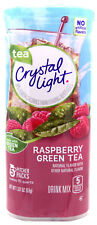 4 10-Quart Canisters Crystal Light Raspberry Green Tea Drink Mix