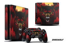 Skin Decal Wrap For PS4 Slim Playstation 4 SLIM Console + Controller Stickers DW