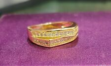 .50Ct Diamond Engagement  Love Ring 14k yellow Gold fn Xmas Proposed Gift 5 3/4