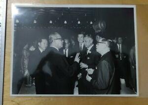 1960s Malaya Tunku Abdul Rahman at a dinner function  Original Press Photo #2