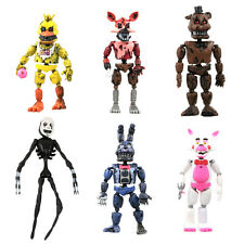 2017 New Aarrival 6Pcs FNAF Five Nights at Freddy's Action Figures Toys Kids Gif