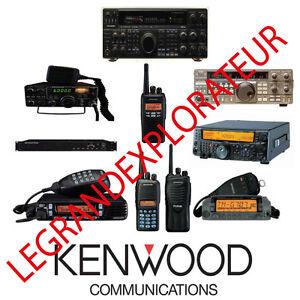 Ultimate Kenwood Ham Radio  Operation Repair Service manual       590 PDF on DVD