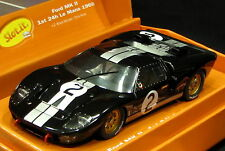 SLOT IT SICW10 FORD GT40 MKII #2 1ST PLACE LEMANS  LIMITED EDITION 1/32 SLOT CAR