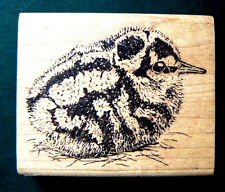 "P15 Chick rubber stamp 2.5x2"" soooo cute. WM"