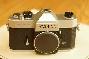 Yashica TL electro body only in working order. New seals + mirror foam