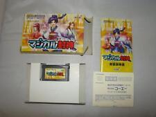 Nintendo Gameboy Advance Magical Houshin Japan Import NTSC-J CIB complete in box