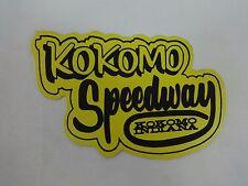 Kokomo Speedway Kokomo Indiana Decal USAC Sprint Car Miget Silver Crown Indy 500