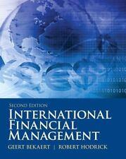 International Financial Management by Robert J. Hodrick and Geert Bekaert (2011,
