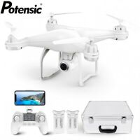 Potensic T25 GPS Drone FPV 1080P HD Camera WiFi RC Quadcopter With Carrying Case