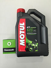 Kawasaki Ninja 650 Service Kit  Oil Filter & Sump plug washer & Motul Oil