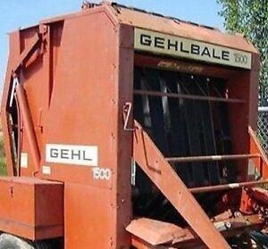 For Gehl Round Baler Lower Belt V Guide 56480 1500 1600