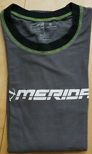 MERIDA Männer Unisex Radsport Polo Shirt Fahrrad Biking Trikot Sport S wie neu