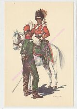 CP MILITARIA J DEMART Costumes Militaires 2e chasseur cheval trompette cavalier