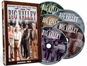 BIG VALLEY: SEASON TWO NEW DVD
