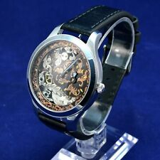 Skeleton Wrist Watch - Regulator - Alpina vintage movement