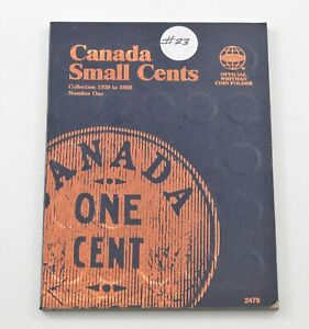 1920-1988 - Canada Small Cents - Collection Set Lot Album *262