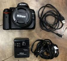NIKON D5000 DIGITAL SLR DSLR CAMERA + 18-55mm AF-S VR LENS-13K CLICKS-BLACK