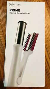 "Instyler 00681 Prime Blowout 1.25"" Revolving Iron Styler White/Pink"