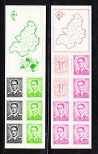 Belgium booklets Sc #'s 472c, 472b Mnh 1970